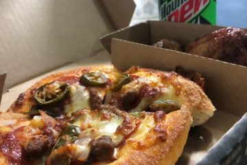 Pizzahut哈辣墨西哥披薩